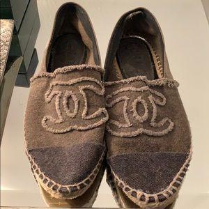 Authentic Chanel espadrilles